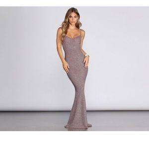 LARA FORMAL GLITTER DRESS